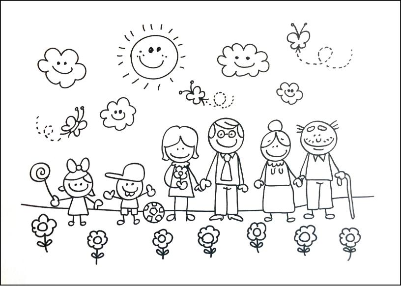 Dibujo de Familia Sistmico 2692016  Diario de la Esfinge